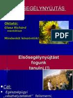 ELSŐSEGÉLY/FIRST AID