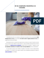 Derechos de las empleadas domésticas en Colombia