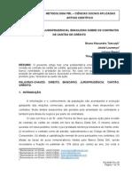 2. O ENTENDIMENTO JURISPRUDENCIAL BRASILEIRO SOBRE OS CONTRATOS DE CARTÃO DE CRÉDITO.doc