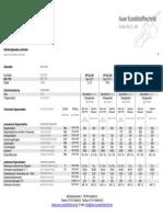 Datenblatt Glashartgewebe-Laminate 70074