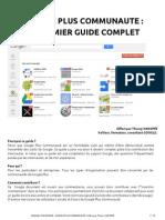 Guide Utilisateur Google Plus Communaute by Thierry Vanoffe - 29 Décembre 2012