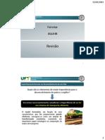 Ferrovias - Janaina Lima de Araújo - Aula 06 - Revisão