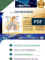 Ppt Sistem Respirasi Logopedi