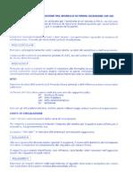 Mod NP2B Istruzioni