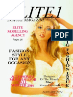 Elitte1 Magazine issue 1