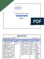 Planificação Expressão Dramática Pief2 2012-2013