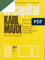Karl Marx, El Capital. Tomo III. El Proceso Global de La Producción Capitalista. Vol. 8