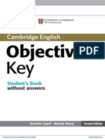Objective Key2 Elementary Students Book Without Answers Frontmatter