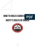 Rusty's Rules (Nonprint Version)