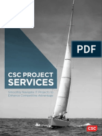 CSC Project Services Brochure