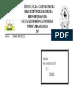 Amplop LPJ Paskah 2015