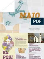 Agenda Cultural de Maio 2015