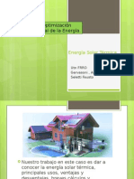 Energía Solar Térmica Presentacion