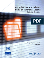 Datos Abiertos y Ciudades Inteligentes en Latinoamerica