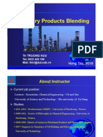 Refinery Products Blending