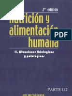 Nutricion y Alimentacion Humana II --- Situaciones Fisiologicas y Patologicas --- 2edicion --- Jose Matrix Verdu - Portada