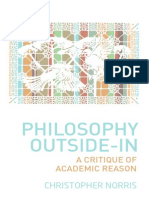 Christopher Norris - Philosophy Outside-In