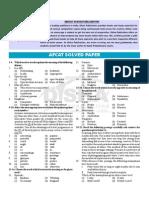 Afcat 2015 02/2015 Solved Paper
