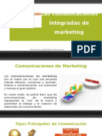 Las Comunicaciones Integradas de Marketing