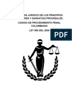 Analisis Juridico Codigo Procesal Penal