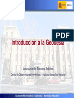 Introduccion a La Geodesia