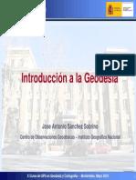 Introduccion a La Geodesia