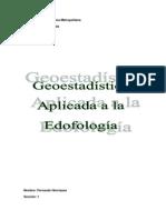 Concepto de Geoestadistica