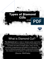 Facts about Types of Diamond Cuts
