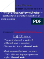 The Small-scale Classical Symphony Orchestra