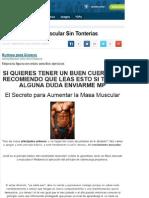 Masa Muscular Sin Tonterias3