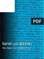 David Sherman-Sartre and Adorno_ the Dialectics of Subjectivity (S U N Y Series in Contemporary Continental Philosophy) (2007)