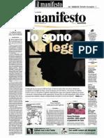 il manifesto >> prima pagina >> 10/03/2010