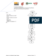 Pseudocódigo y diagrama 1