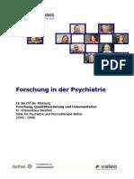 Forschung in Der Psychiatrie - Forschungsbericht_2003_2008
