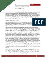 Fall 2015 Tech Sector Update
