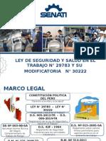 Ley de Seguridad 29783 SST - Presentación