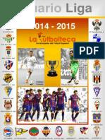 Anuario Liga 2014-15