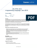 QA-Fundamentals of the Java Programming Language Java SE 6