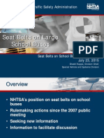 NHTSA Presentation on School Bus Safety