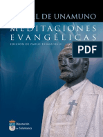 Meditaciones evangélicas, Unamuno