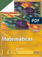 Matematicas Vol1 1º ESO