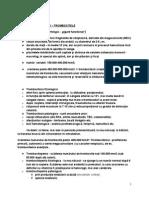 Trombocitele (fiziologie)