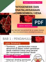 Patogenesis Dan Penatalaksanaan Tromboemboli Vena(1)