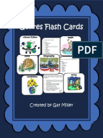Free Genre Flashcards