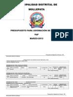 Municipalidad Distrital de Mollepata 10 Hojas