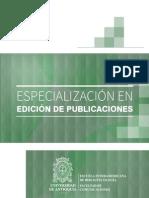Cartilla Especialización en Edición de Publicaciones