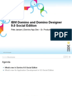 IBM Domino and Domino Designer 9.0 Social Edition
