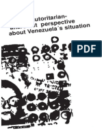 An anti-authoritarian anarchist perspective about Venezuela's situation