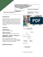 Informe de Laboratorio 2 -De Físico -Quimica