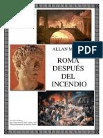 Allan Massie - Roma Despues Del Incendio